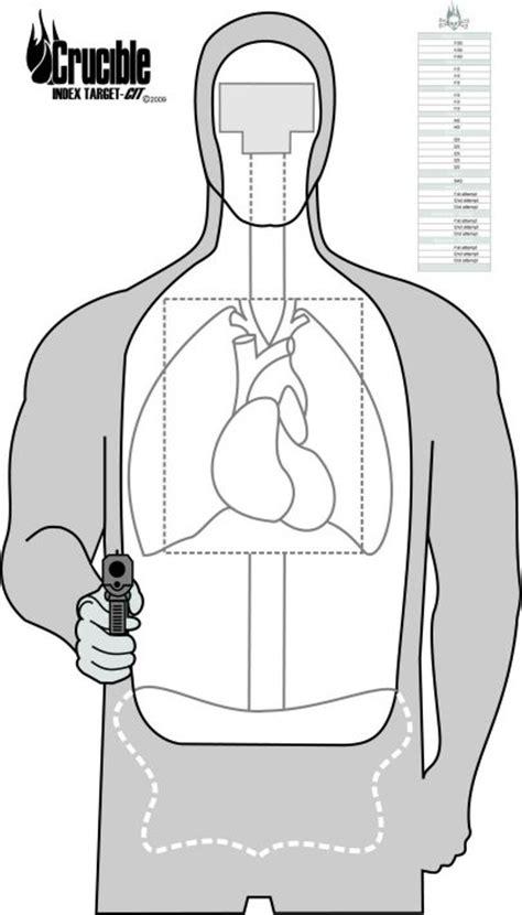 printable targets human gift ideas at pistoleer com