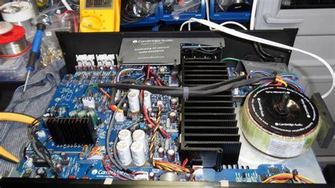 Cambridge Azur 550a Amplifier Repair Youtube