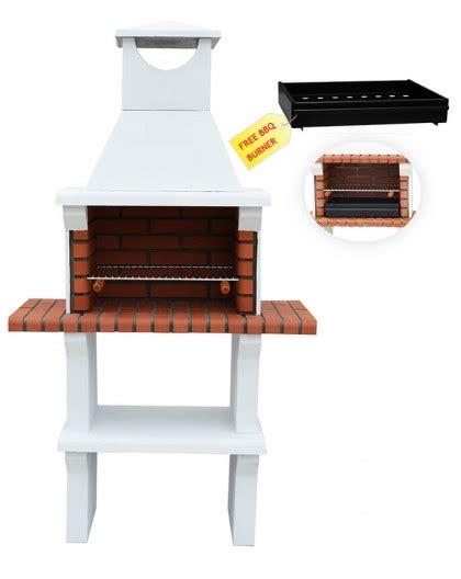 modena masonry bbq grill  white manufacturer