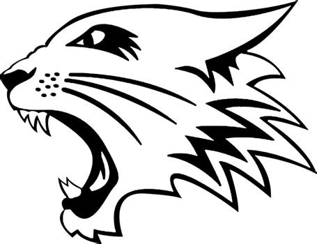 free coloring pages of uk wildcats