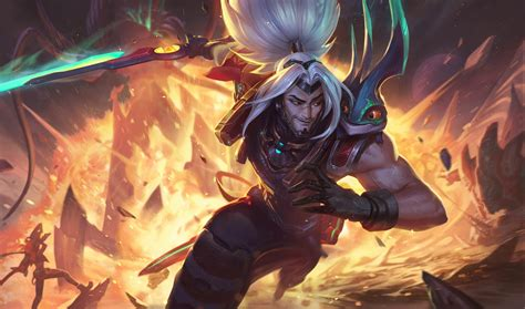 odyssey yasuo lol wallpapers