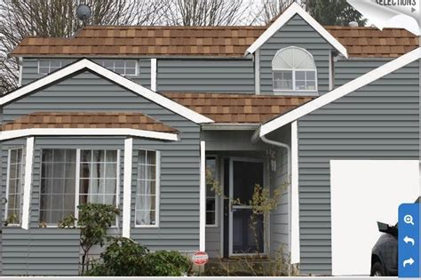 flagstone siding with lt brown roof exterior in 2019 exterior paint colors for house house