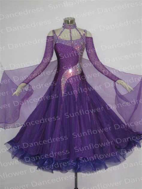 Dress Standar 1 modern waltz ballroom dress smooth dress