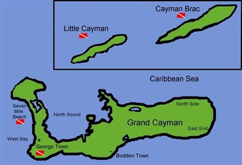 cayman islands map caribbean index of images caribbean
