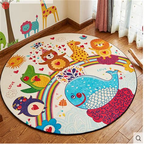 haba rug home decor bedroom colorful animal carpet cat deer children play mat rugs