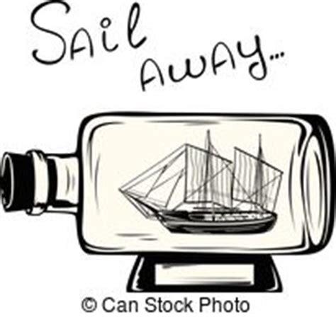 dessin bateau bouteille bateau bouteille bateaux ensemble bouteilles trois
