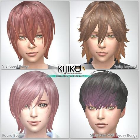 sims 4 kids hair 17 best images about sims 4 cc on pinterest sims 4