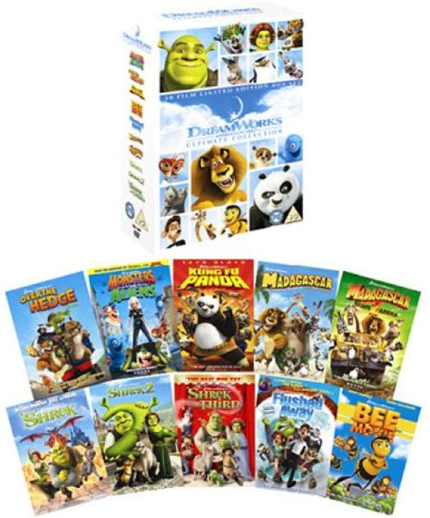 Home Decor Walmart by Dreamworks Animation Ultimate Collection Dvd Zavvi Com