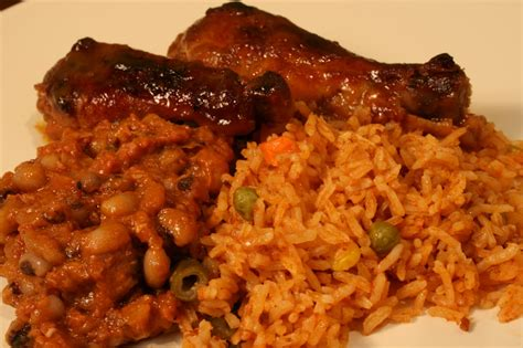 chicken and rice food photos liberia
