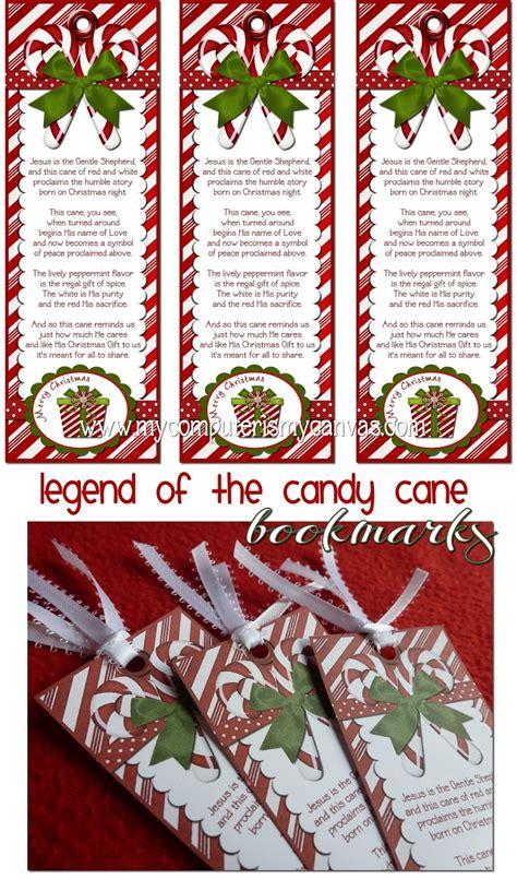 computer   canvas freebie candy cane legend