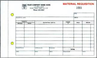 construction material request form template requisition form template