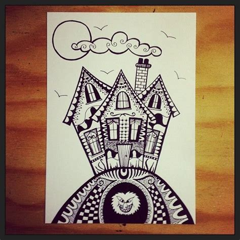 doodle god haunted house 195 best zentangles doodles images on