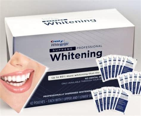 crest whitestrip supreme emmaaist blanqueamiento dental en casa crest