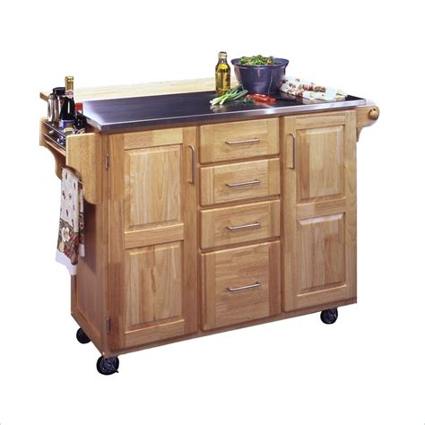 kitchen island movable movable kitchen island with breakfast bar free shipping 5086 95 home styles