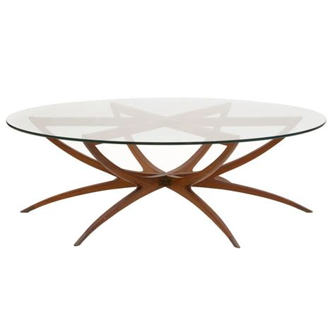 glass coffee table wood base with interior