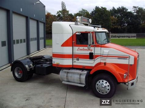 kw tractor trailer kenworth t800 1999 standard tractor trailer unit photo and