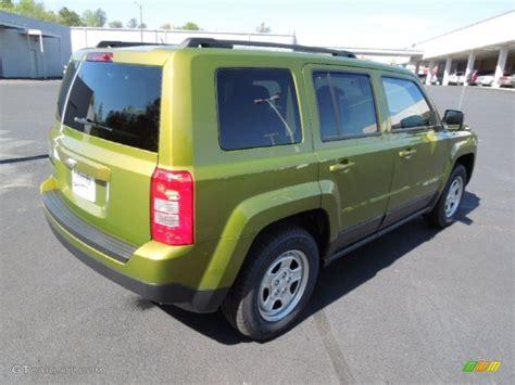 dark green jeep patriot 2012 rescue green metallic jeep patriot sport 62976641