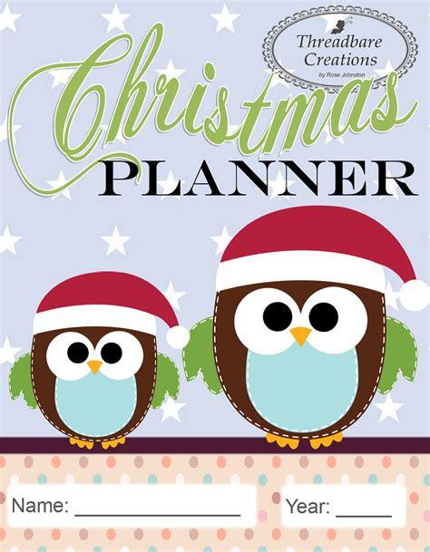 christmas planner free printable 2015 free printable christmas planner threadbare creations