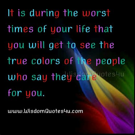 True Peoples Search Seeing Someones True Colors Quotes Quotesgram