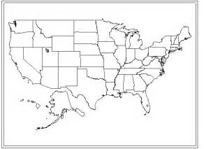 the united states map blank a blank map of the united states that you can fill in