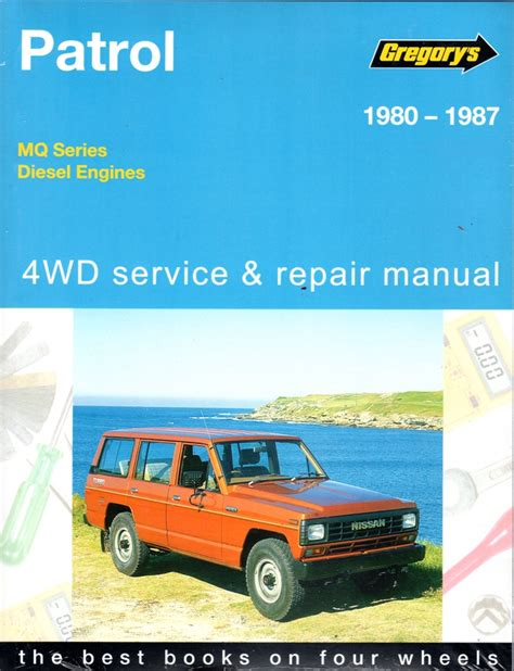 service manual books on how cars work 1987 mazda 626 electronic toll collection service nissan patrol mq diesel 6 cylinder 4wd 1980 1987 sagin workshop car manuals repair books