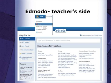 edmodo teacher edmodo training