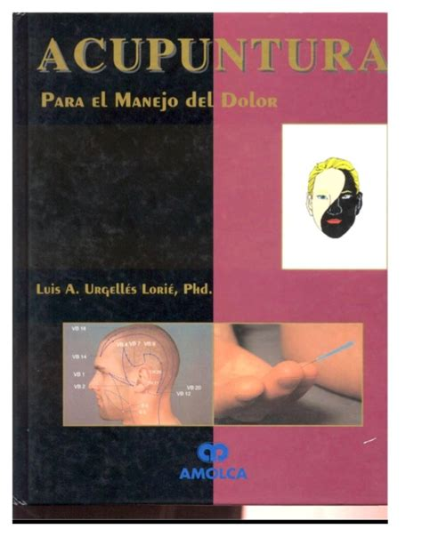 libro manejo de instalaciones para libro dr luis a curso acupuntura para el manejo del dolor esp