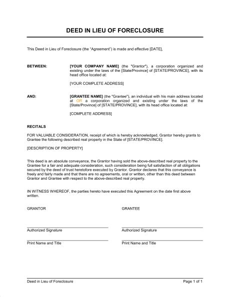 Freeselection Blog Free Foreclosure Letter Template
