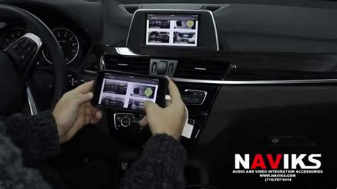 bmw   naviks hdmi video interface added iphone