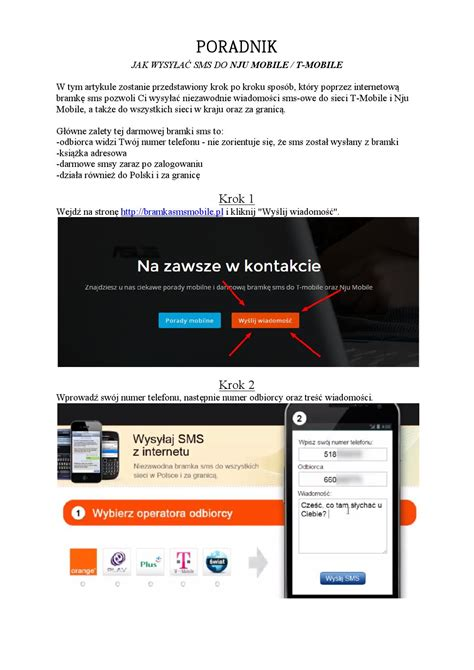 issuu mobile darmowa bramka sms nju mobile i t mobile by bramkasmsnju