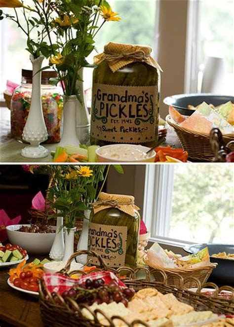 Bbq Baby Shower Decorations by Vintage Bbq Baby Shower Pickles Shower Ideas