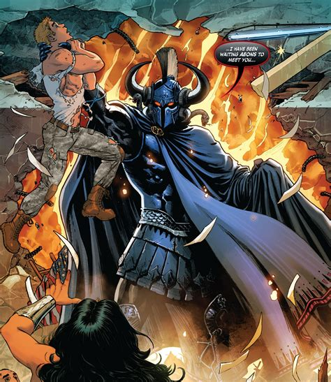 ares dc comics ares character comic vine
