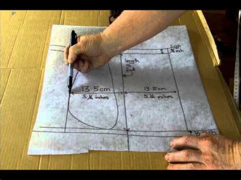 pattern making youtube making the moccasin pattern part 2 dvd youtube