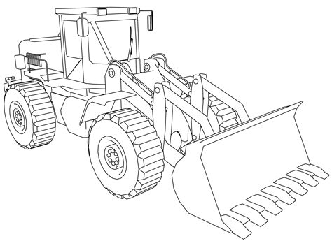 Bulldozer Coloring Pages Wecoloringpage Bulldozer Coloring Pages