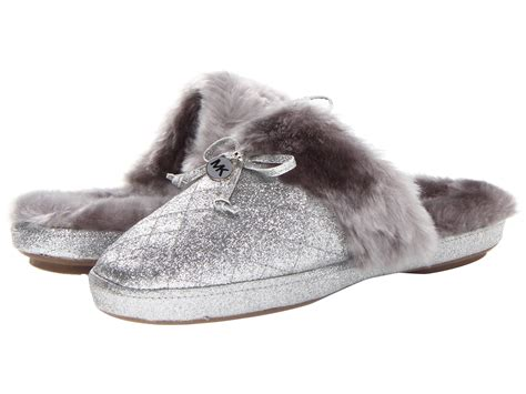 michael kors house shoes michael michael kors carter slipper shipped free at zappos