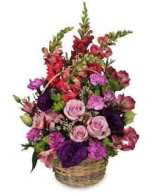 Home Flower home sweet home flower basket basket arrangements flower shop