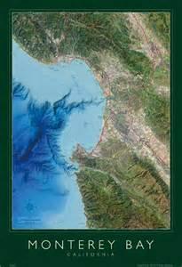 map of monterey bay california monterey bay map 2005