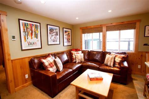 mountain condo decorating ideas mountain ski condo traditional family room seattle by am interior design