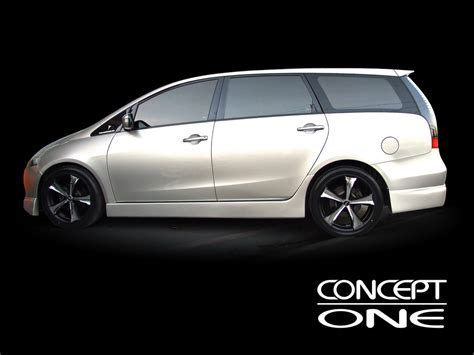 mitsubishi grandis concept one wheels innovative technology