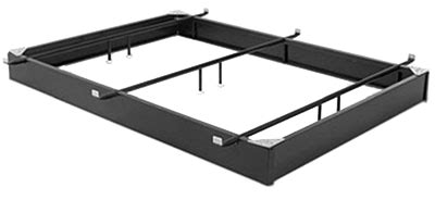 Black King Size Bed Steel Bed Base King Hotel Style Bed Frames And Rails