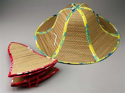 foldable straw hat hats fashionable sunbonnet