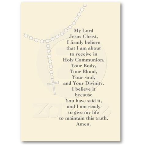 Free Memorial Card Template With Messianic Symbols Poems by My Rosary Holy Communion Prayer Card Business
