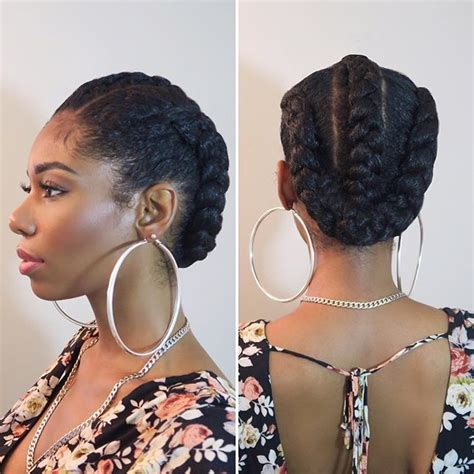 how to put thick braids in a bun it was a quot no hair shall touch this neck quot kinda day lol
