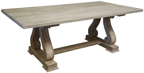 Washed Wood Dining Table Washed Wood Dining Table Alasweaspire