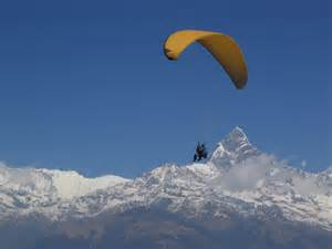 Paragliding in nepal by cool images786 3