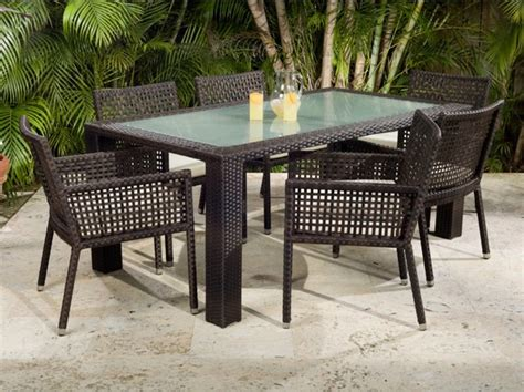 Patio Dining Furniture Source Outdoor Matterhorn Zen All Weather Wicker Patio