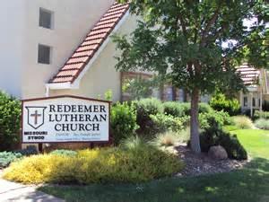 Redeemer Lutheran Church Picture Churchfront Original Redeemer Evangelical