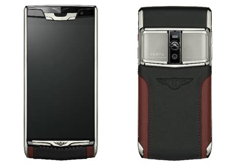 bentley vertu bentley teams with vertu for the signature touch for
