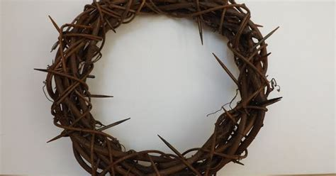 craft crown of thorns sewforsoul easter crown of thorns grapevine tutorial