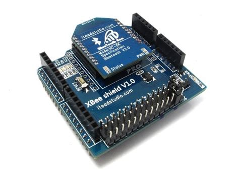 Promo Xbee Shield For Arduino xbee shield and btbee itead intelligent systems